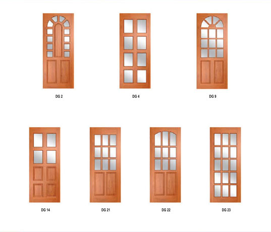 Solid Glaze Doors  sc 1 st  Timber Doors and Solid Wooden Doors Manufacturer in Malaysia & Solid Glaze Doors | Deux Perfection