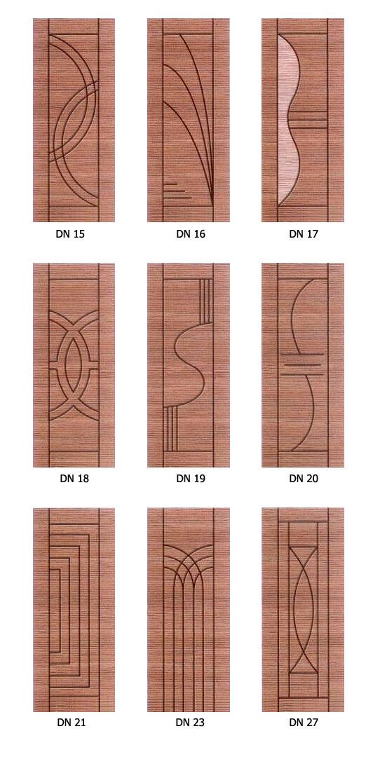 Textured Designer Doors image 1