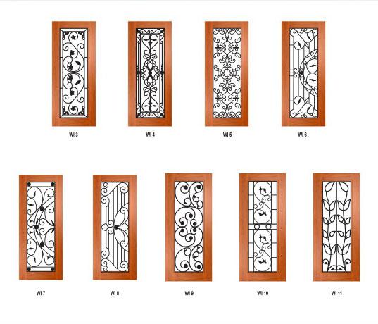 Wrought Iron Doors image 1