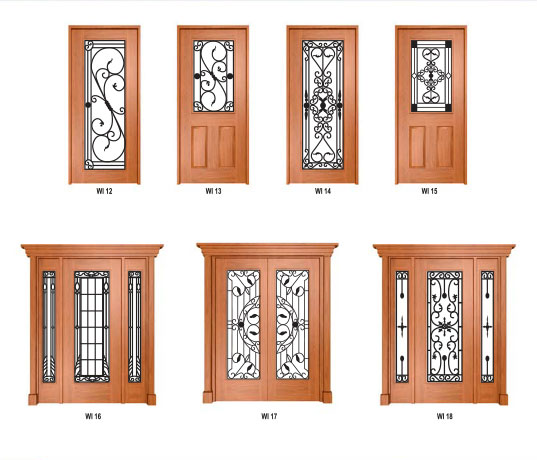 Wrought Iron Doors image 2